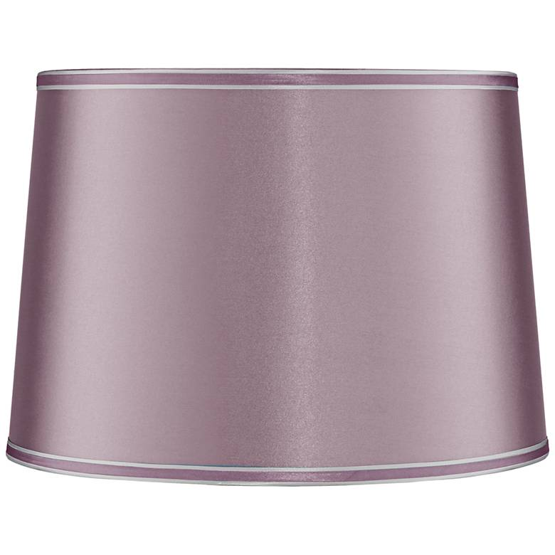 Mauve Drum Lamp Shade 14x16x11 (Spider)