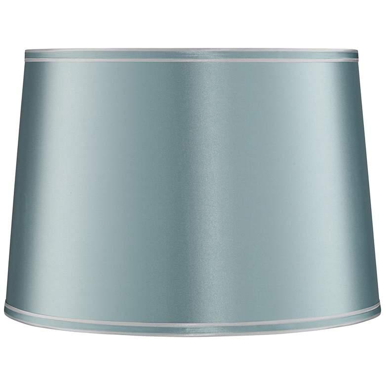 Rain Blue Drum Lamp Shade 14x16x11 (Spider)