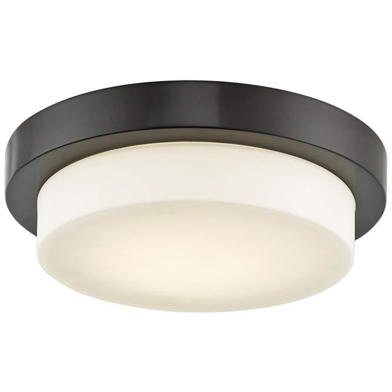 "Step 11"" Wide Bronze LED Ceiling Light"