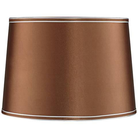 Copper Drum Lamp Shade 14x16x11 Spider 42t16 Lamps Plus