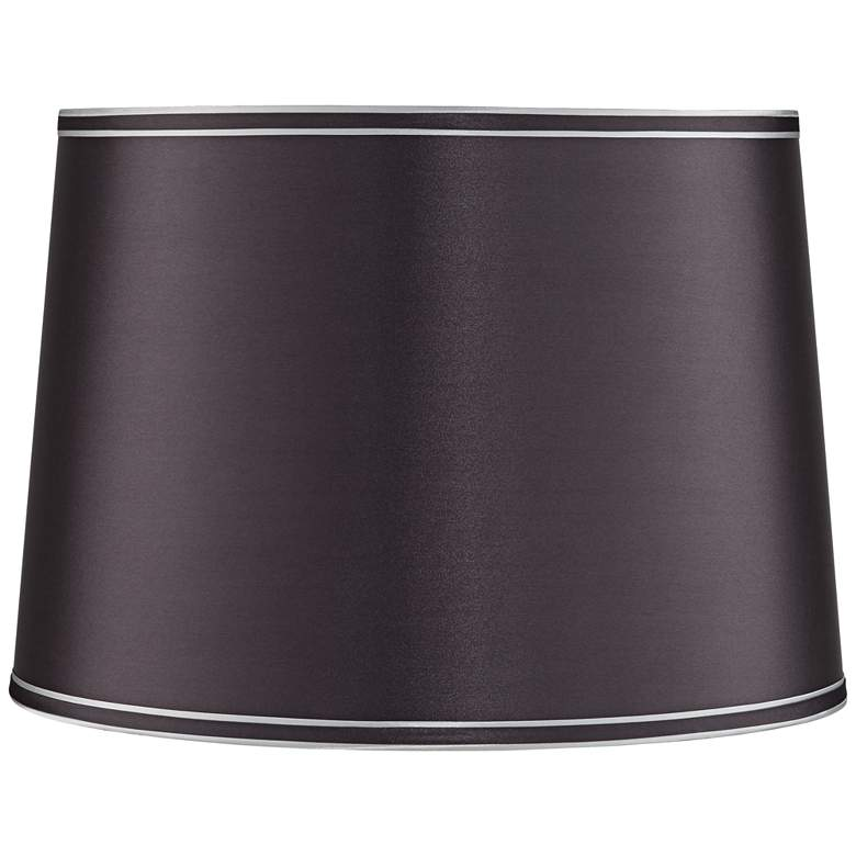 Graphite Drum Lamp Shade 14x16x11 (Spider)