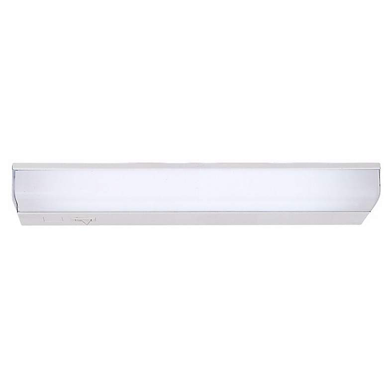 "Fluorescent 12"" Wide Direct Wire Under Cabinet Light"