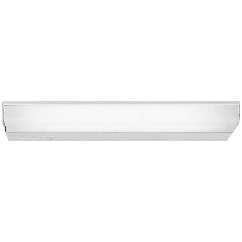 """Ethan 21"""" Wide White Direct Wire Under Cabinet Light"""