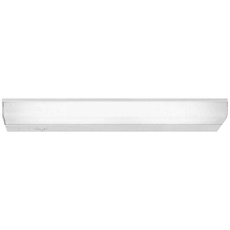 """Ethan 24"""" Wide White Direct Wire Under Cabinet Light"""