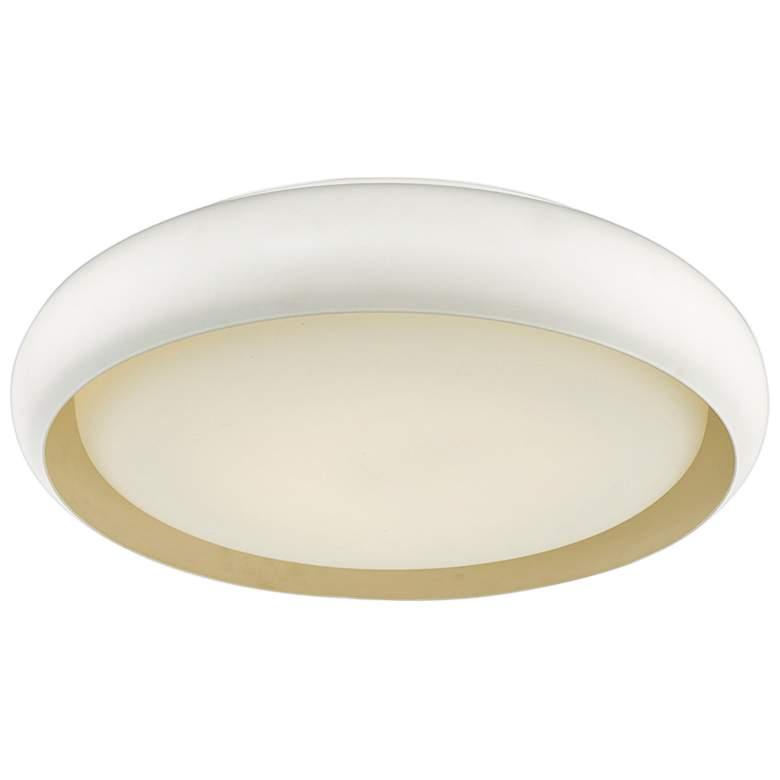 "Euphoria 18"" Wide White LED Ceiling Light"