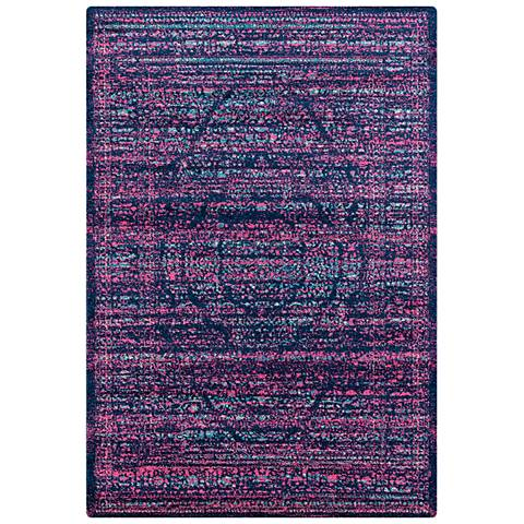 Abigail Analia Midnight Blue Area Rug