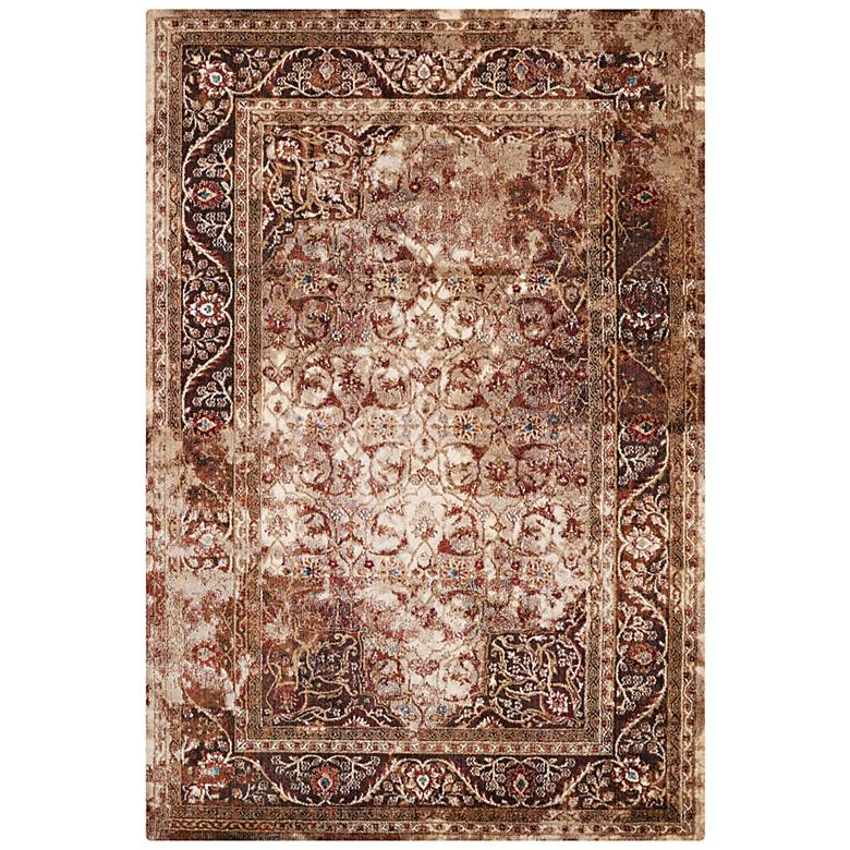 Jules Camelot Brown Area Rug