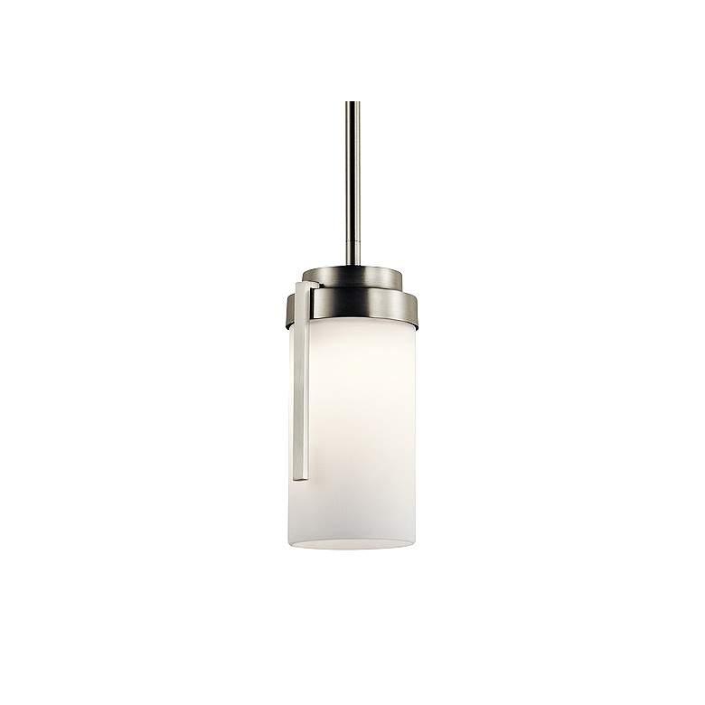 """Kichler Akai 4 1/2"""" Wide Brushed Nickel LED"""