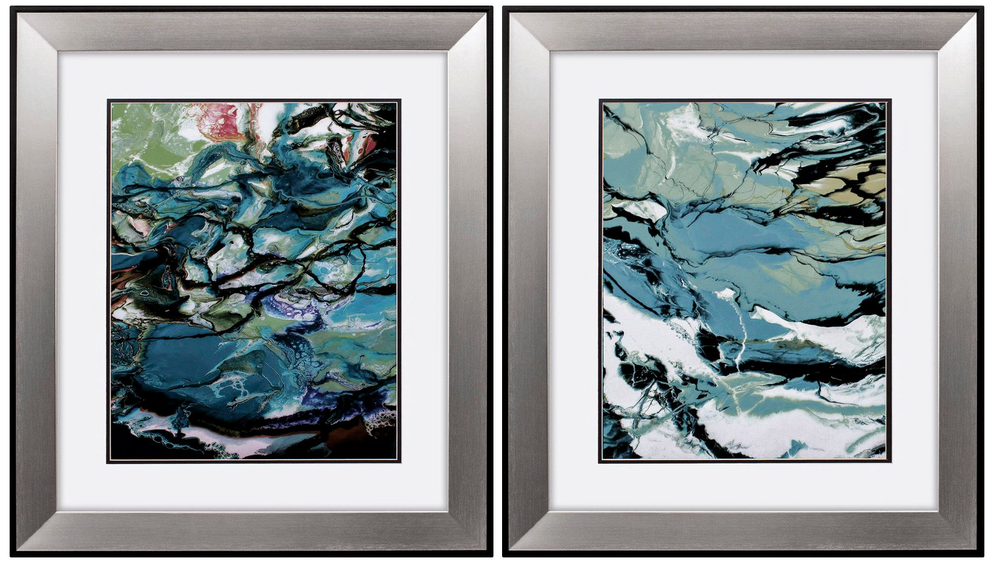 Marble 29  High 2-Piece Framed Wall Art Set  sc 1 st  L&s Plus & Wall Art - Plaques Panels Canvas u0026 More | Lamps Plus
