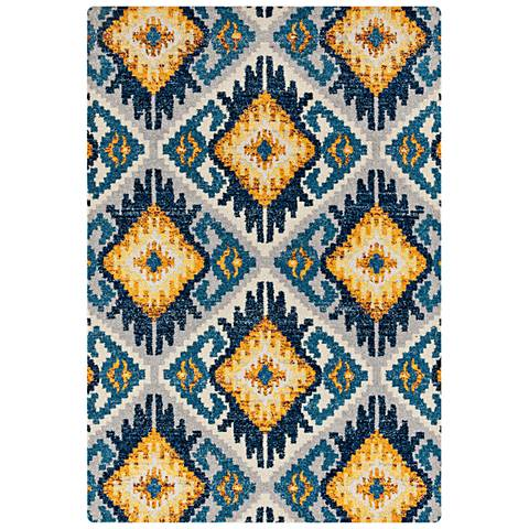 Abigail Tinley Midnight Blue Area Rug