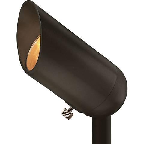 """Allen 3 1/4""""H Bronze 5W 2700K LED Landscape Accent Spotlight"""