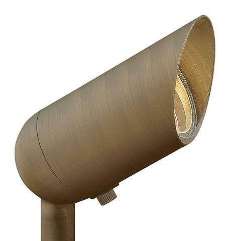 "Hardy Island 3 1/4"" High Matte Bronze 3W 3000K LED Spotlight"