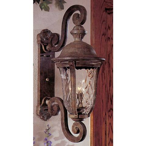 "Ardmore 31 1/2"" High Rust Outdoor Wall Light"