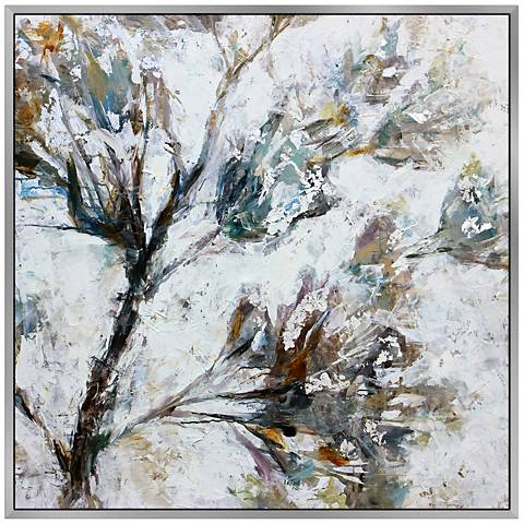 """Springs Grace 40"""" Square Framed Canvas Wall Art"""