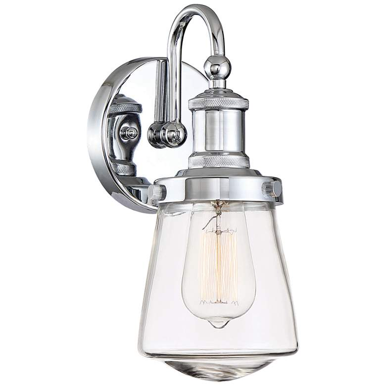 "Taylor 11 1/2"" High Chrome Wall Sconce"
