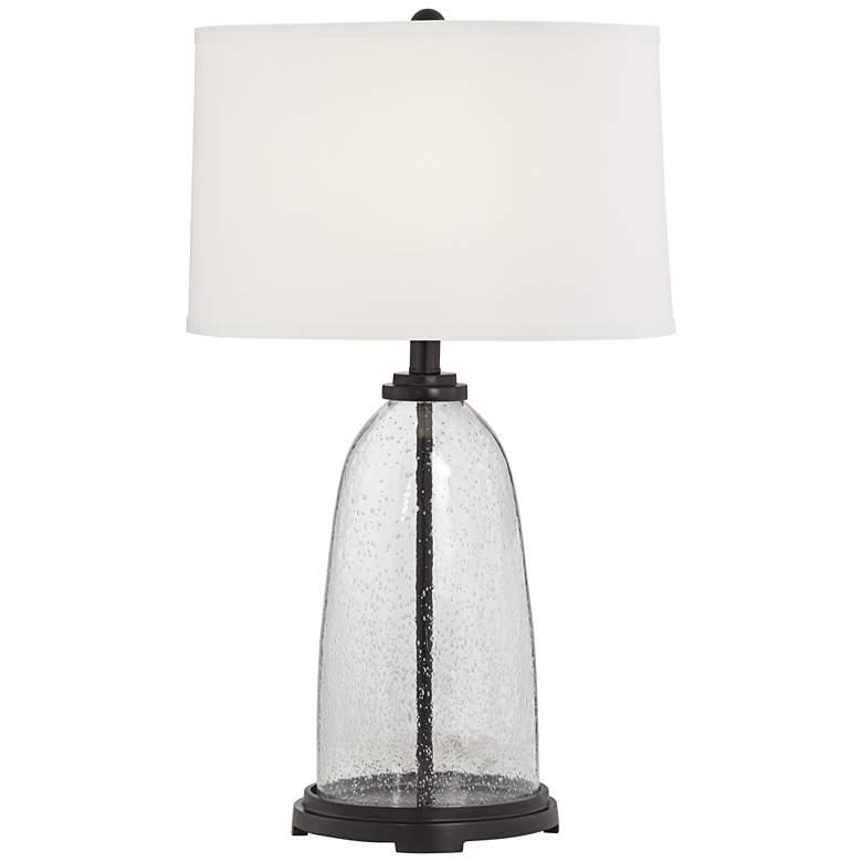Emerson Dark Bronze Fillable Table Lamp