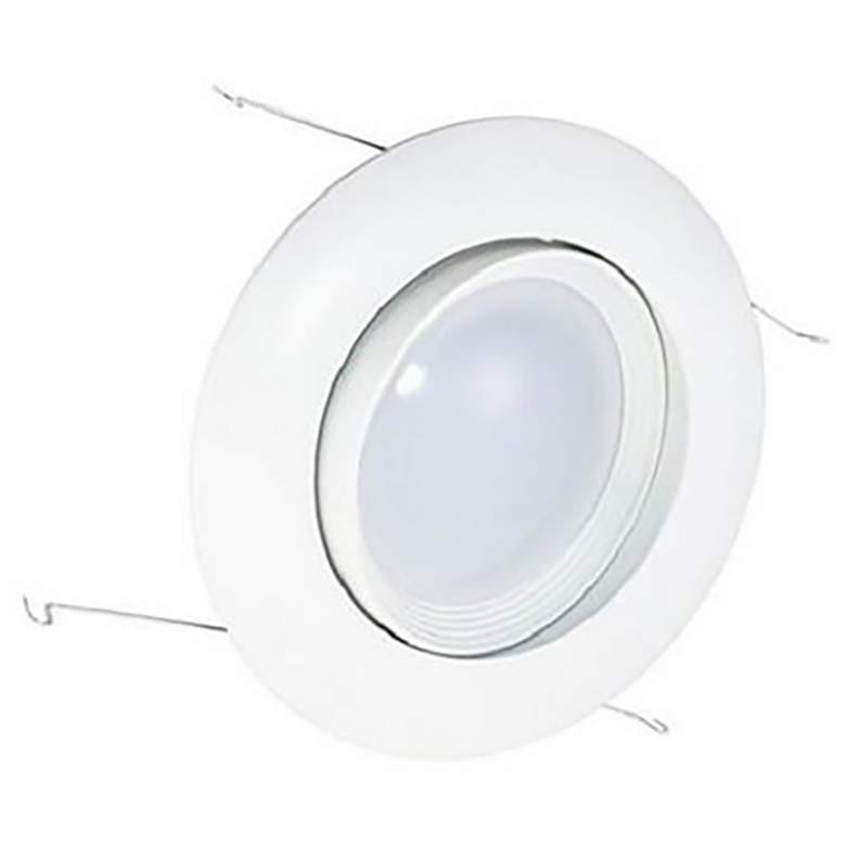 "6"" White Gimbal Retrofit 15W LED Eyeball Downlight"