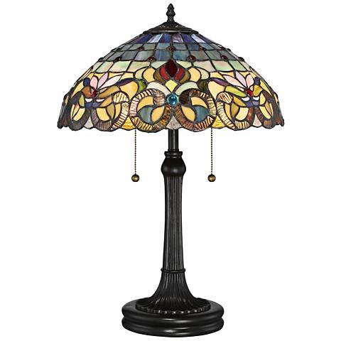 Quoizel Lyric Vintage Bronze Accent Table Lamp