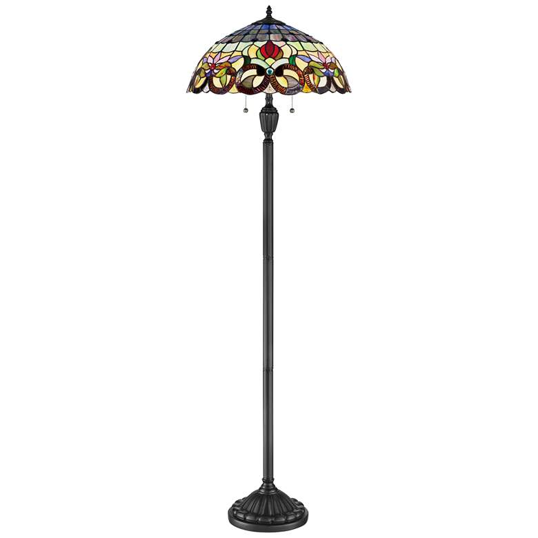 Quoizel Lyric Vintage Bronze Floor Lamp