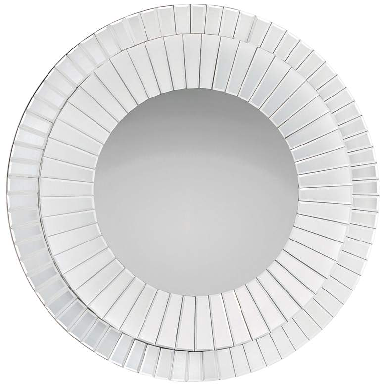 """Quoizel Muse 35 3/4"""" Round Wall Mirror"""