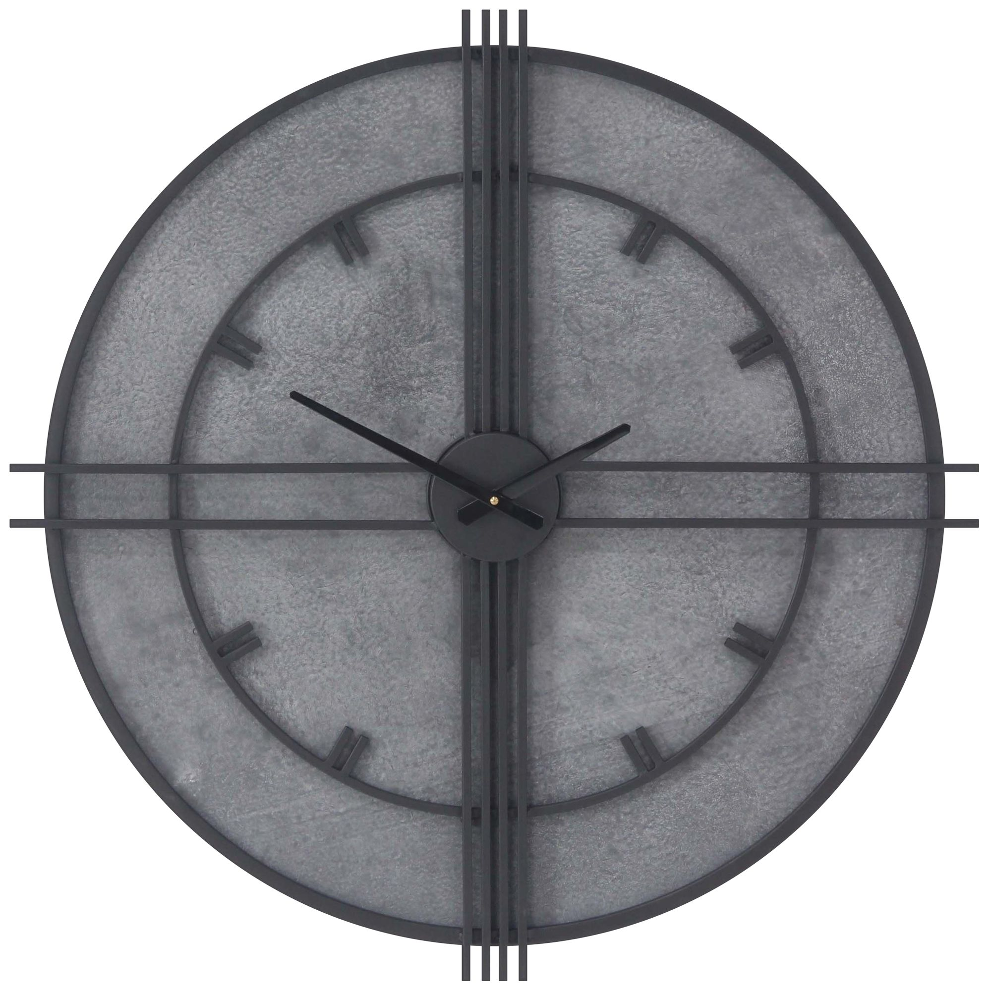 Cielo Mirrored 20 Square Wall Clock 1J303 Lamps Plus
