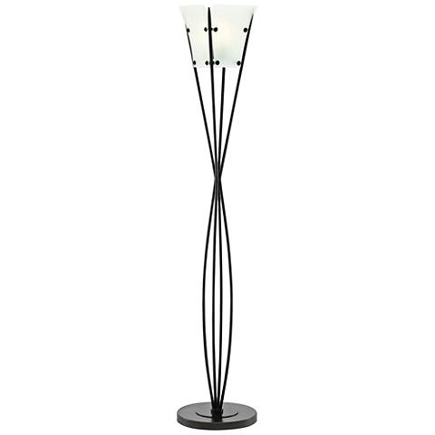 Currey and Company Beckon Oil-Rubbed Bronze Floor Lamp