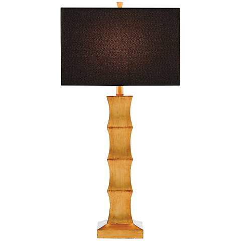 Currey and Company Marnie Gold Leaf Table Lamp