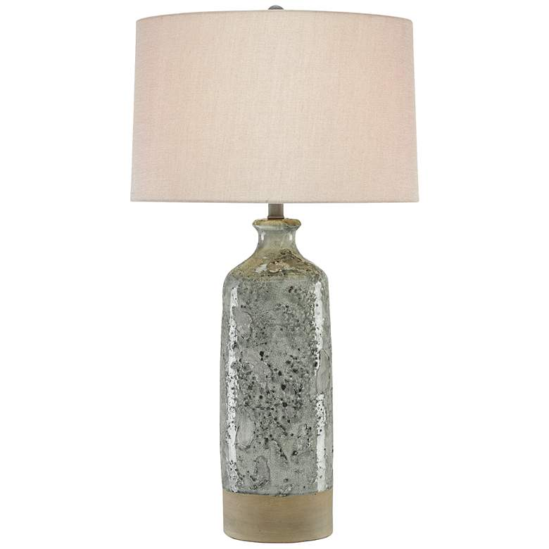 Currey and Company Stargazer Gray Table Lamp