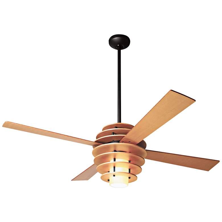 Modern Fan Stella Maple LED Ceiling Fan