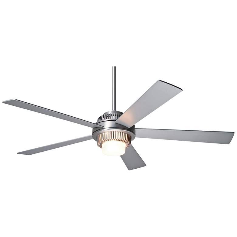 "52"" Modern Fan Solus Brushed Aluminum LED Ceiling Fan"