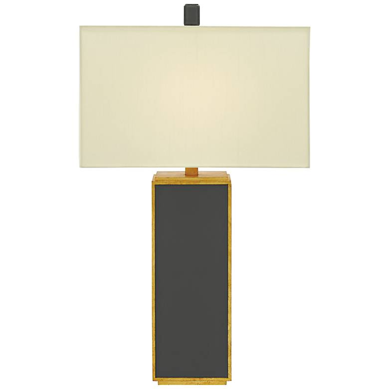 Currey and Company Arden Tornado Gray Table Lamp