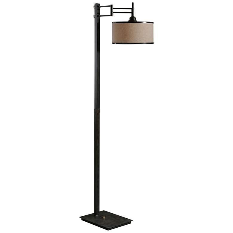 Uttermost Prescott Chocolate Bronze Adjustable Floor Lamp