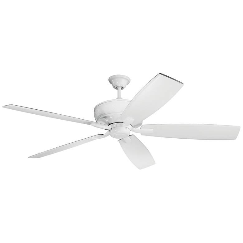 """70"""" Kichler Monarch White Ceiling Fan"""