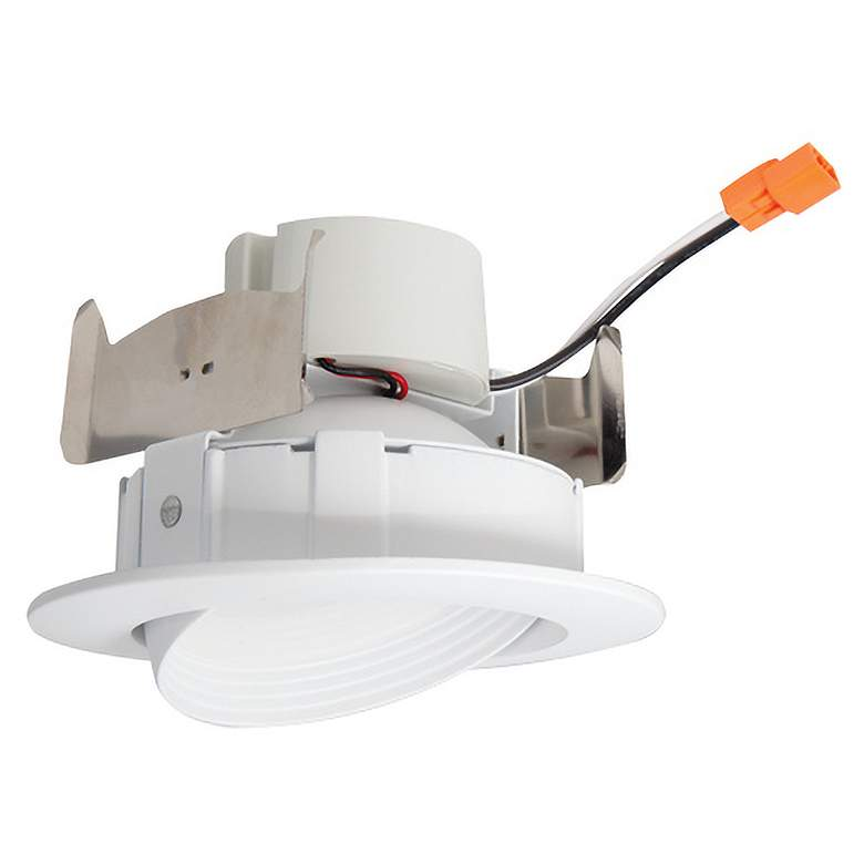 Elco 4 White Adjule Gimbal Insert Led Recessed Trim