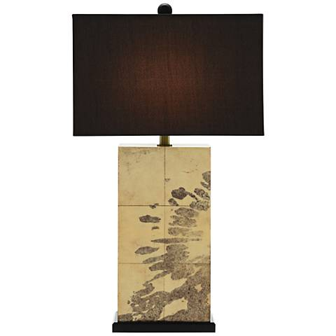 Currey and Company Karlson Natural Vellum Table Lamp