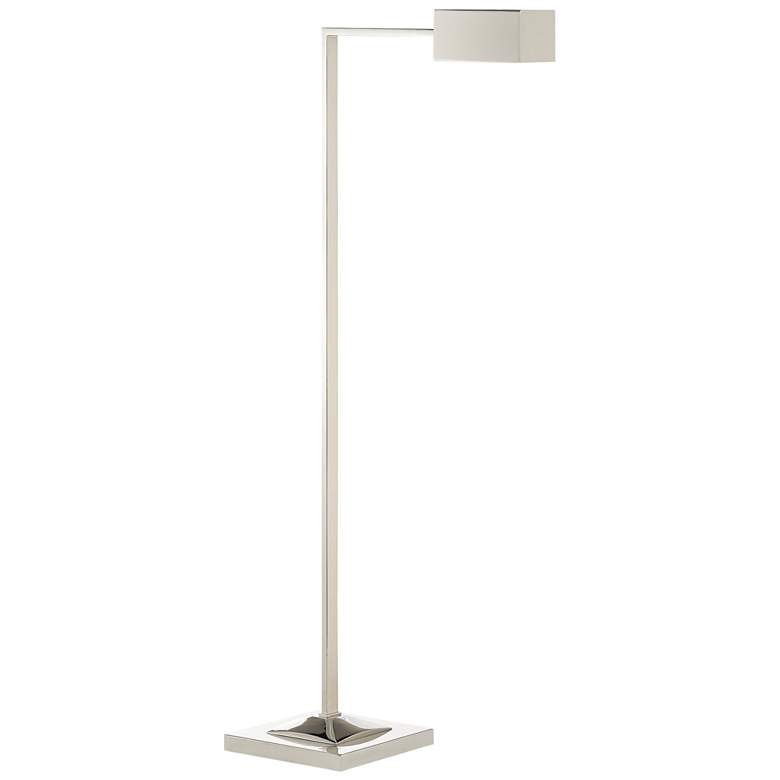 Currey and Company Ruxley Polished Nickel Floor Lamp