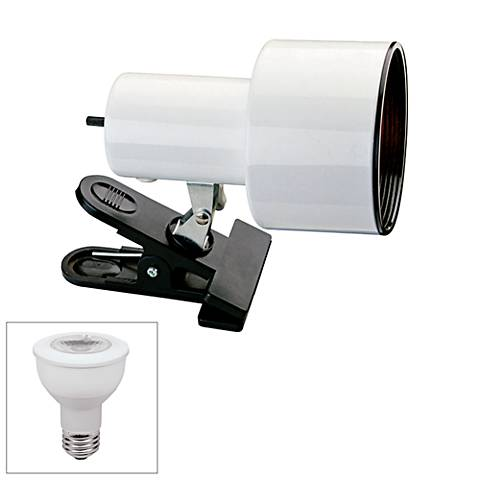 """White 6"""" HIgh Accent LED Clip Light by Pro Track"""
