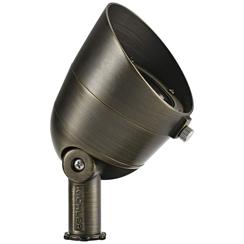 """Landscape LED 4 1/2"""" High Brass 7W 3000K Accent Spot Light"""