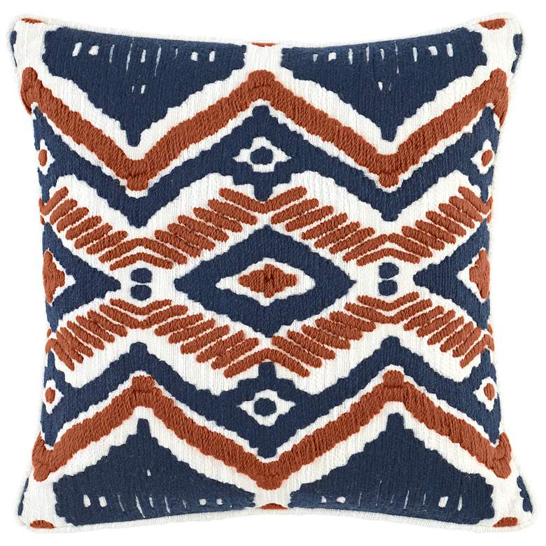 """Sawyer Multi-Color 18"""" Square Throw Pillow"""