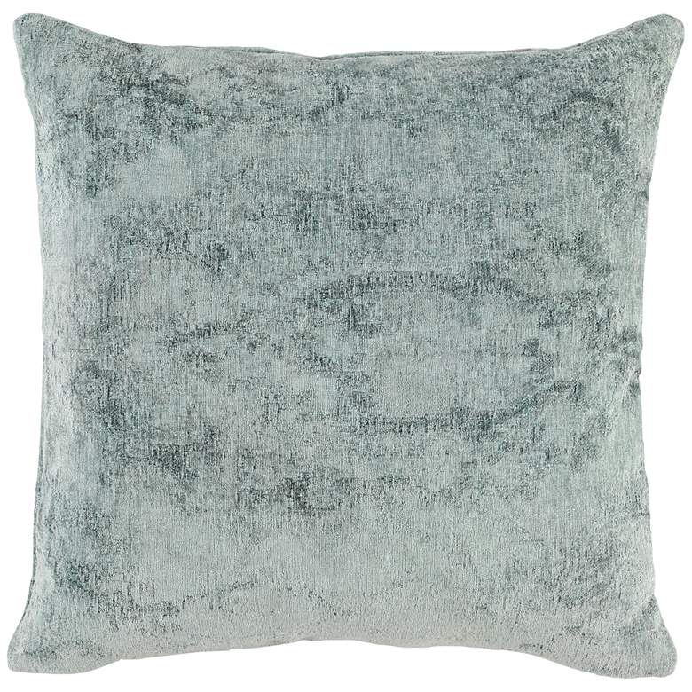"Oliver Sage Green 22"" Square Throw Pillow"