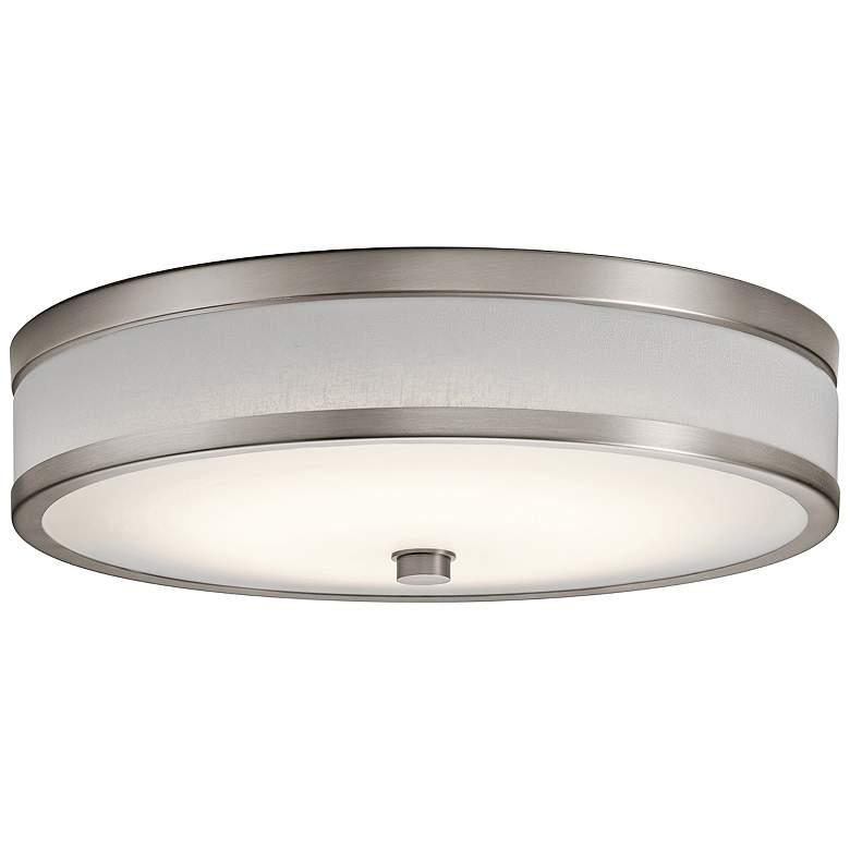 "Kichler Pira 15"" Wide Champagne LED Ceiling Light"