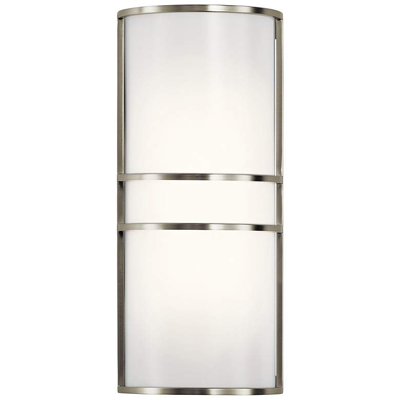 "Kichler Harari 16"" High Brushed Nickel LED Wall"