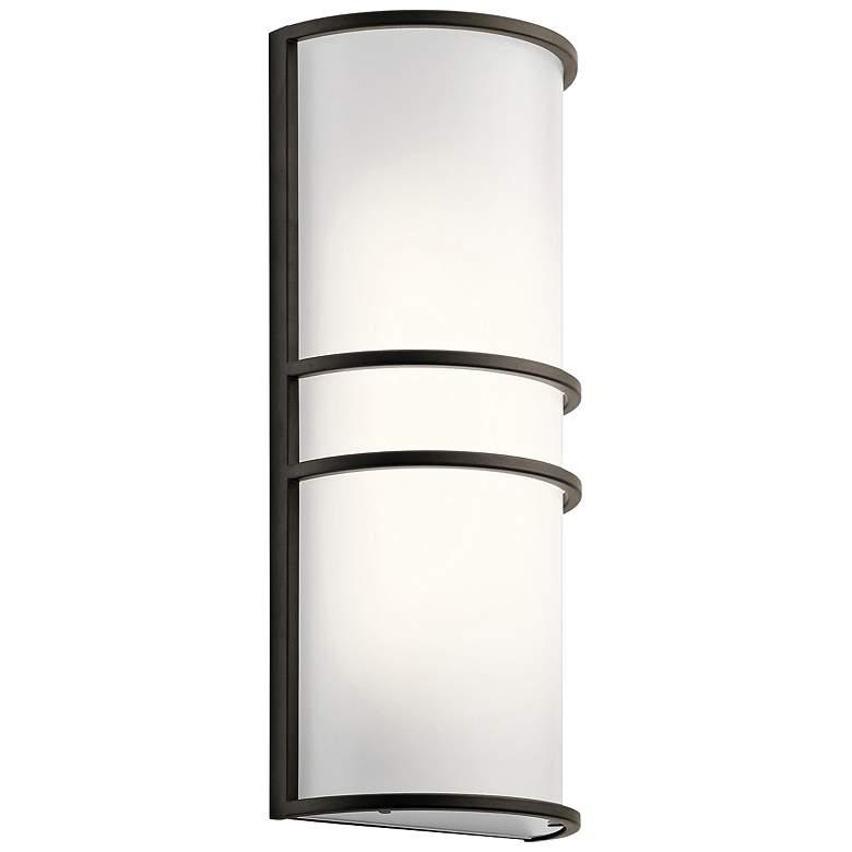 "Kichler Harari 16"" High Olde Bronze LED Wall Sconce"