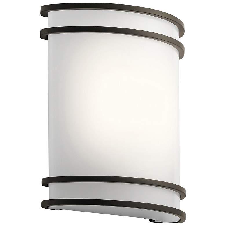 "Kichler Harari 10 3/4"" High Olde Bronze LED Wall Sconce"