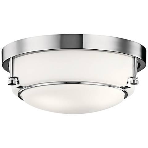 """Kichler Belmont 12 1/2"""" Wide Chrome Ceiling Light"""
