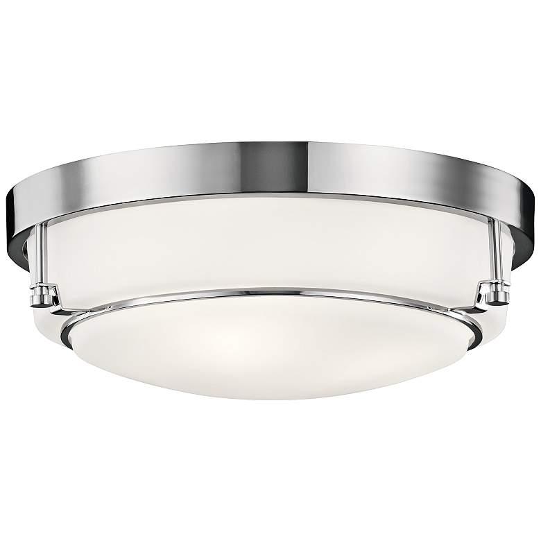"""Kichler Belmont 15 1/2"""" Wide Chrome Ceiling Light"""