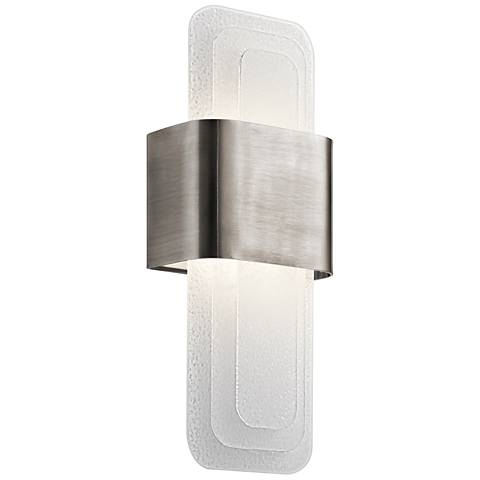 """Kichler Serene 17"""" High Classic Pewter LED Wall Sconce"""