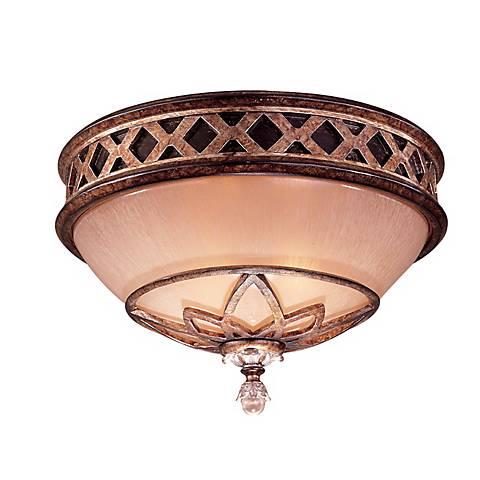 """Minka Aston Court Bronze 13"""" Wide Ceiling Light Fixture"""