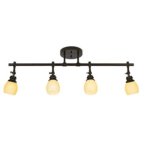 Elm Park LED Bronze Track Wall or Ceiling Light Fixture