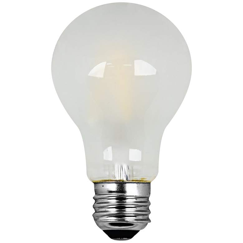 50W Equivalent Frosted 6W Filament LED Dimmable A19 Bulb